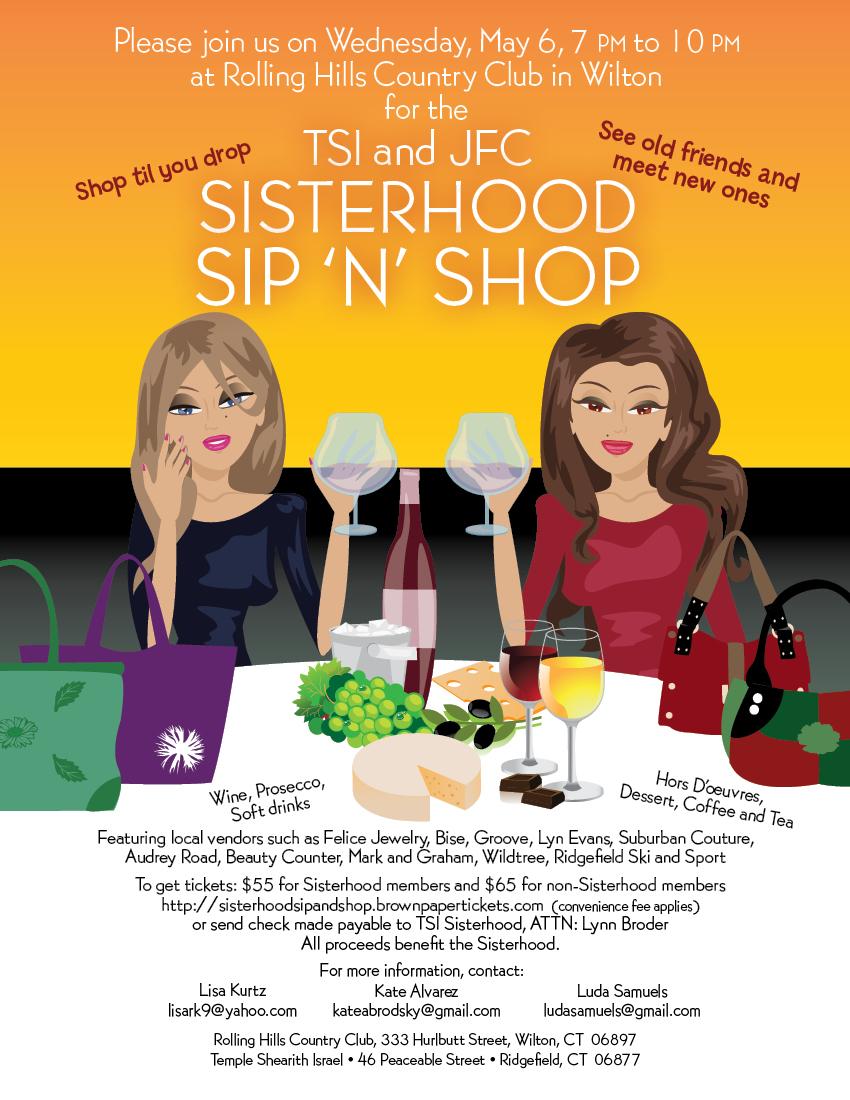 Sisterhood Sip N Shop Jfc And Tsi